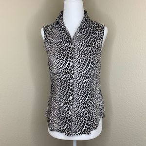 💜212 Collections Leopard Sleeveless Top